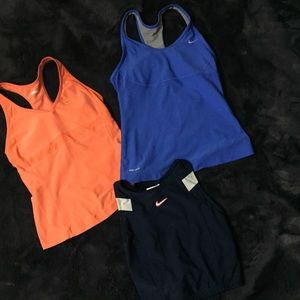 Bundle Nike dri fit workout tanks